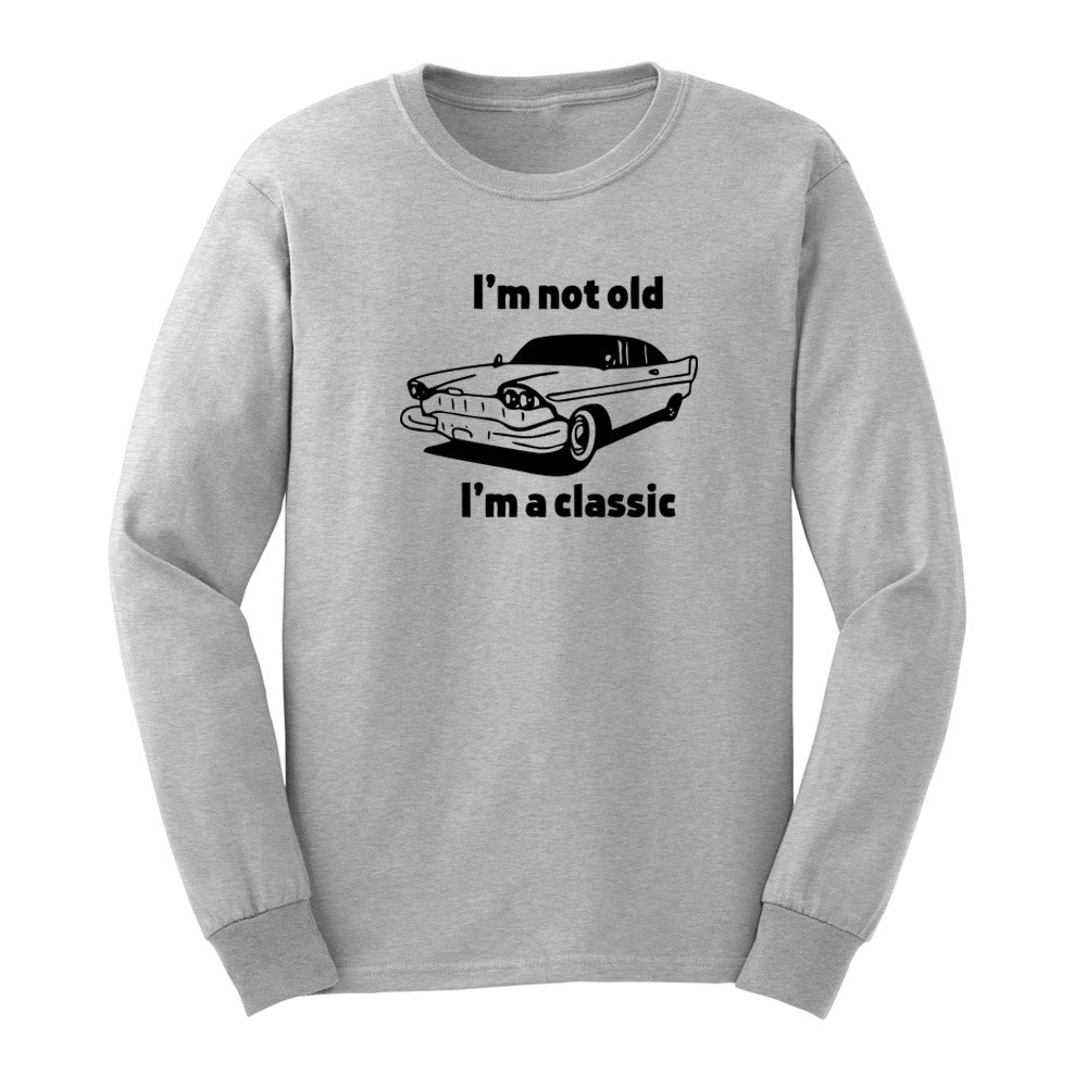 S I M Not Old I M A Classic Car Design T Shirts Casual Tee