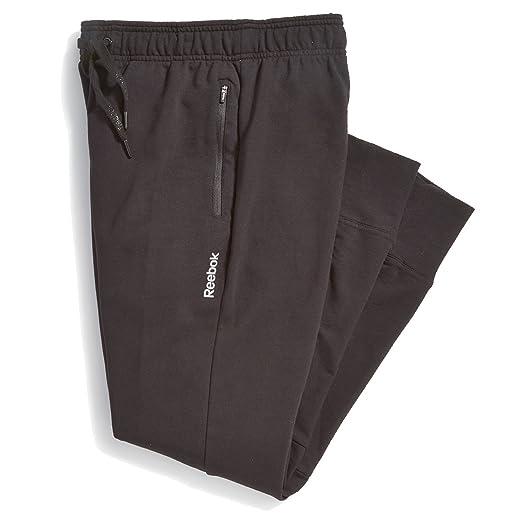 Amazon.com  Reebok Men s Double Time Jogger Pant (Black dc0c677b2