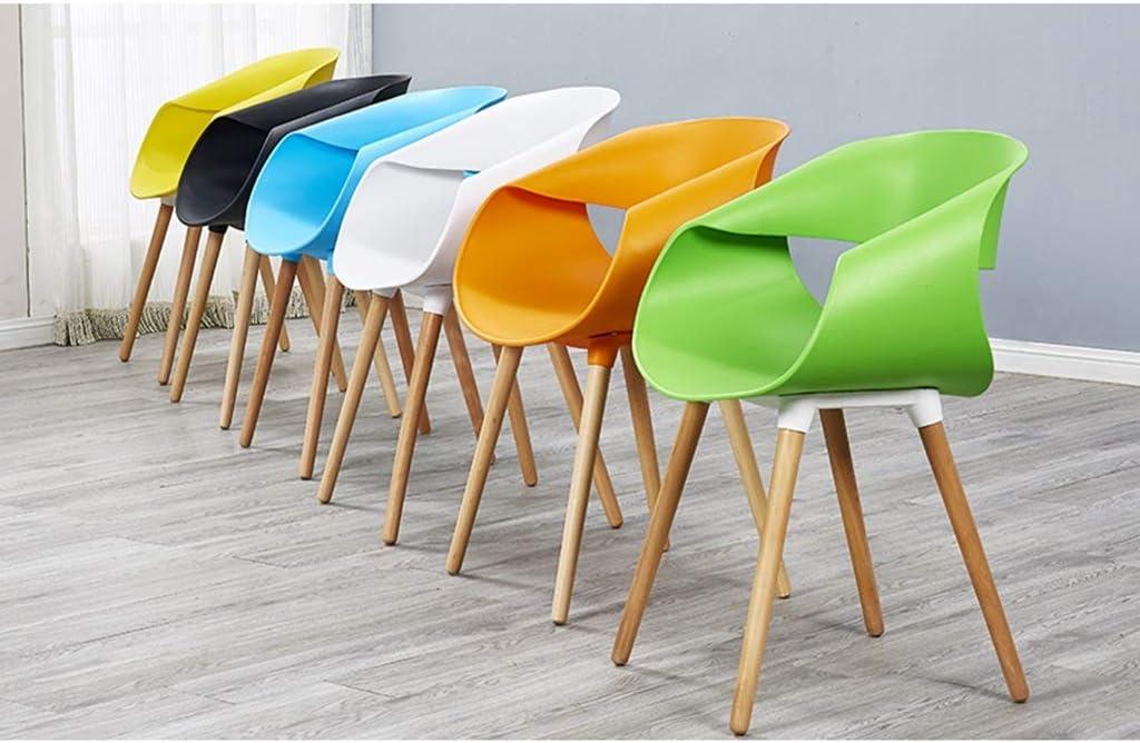 CL- Silla de salón de recepción Moderna, Casual, con Personalidad Simple y Creativa: Siete Colores Pueden Elegir (Color : Red) Green fdGXFw