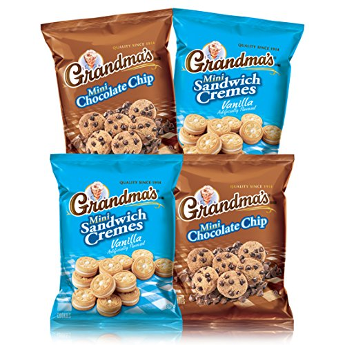 (Grandma's Mini Cookies Variety Pack, 40 Count)