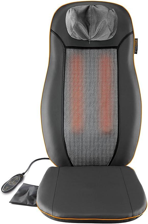 Medisana MCN Housse de siège de massage Shiatsu avec 3 zones de massage