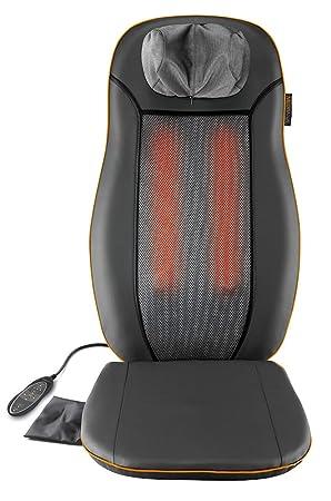 3c47ff86967d Medisana MCN Housse de siège de massage 88930, pour massage Shiatsu  apaisant, avec différentes