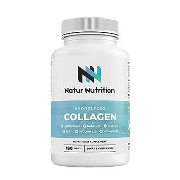 Colágeno con Magnesio. Colágeno hidrolizado con ácido ...