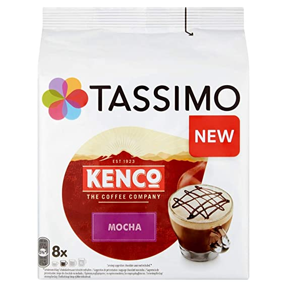 Tassimo Kenco Mocha Coffee Pods 16 Pods 8 Servings