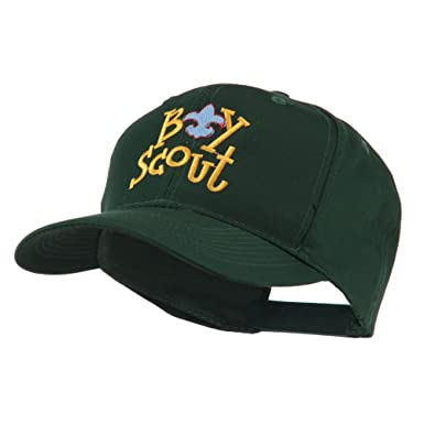 Amazon.com  Boy Scout Logo Embroidered Cap - Green OSFM  Clothing 5baaa4c3dee