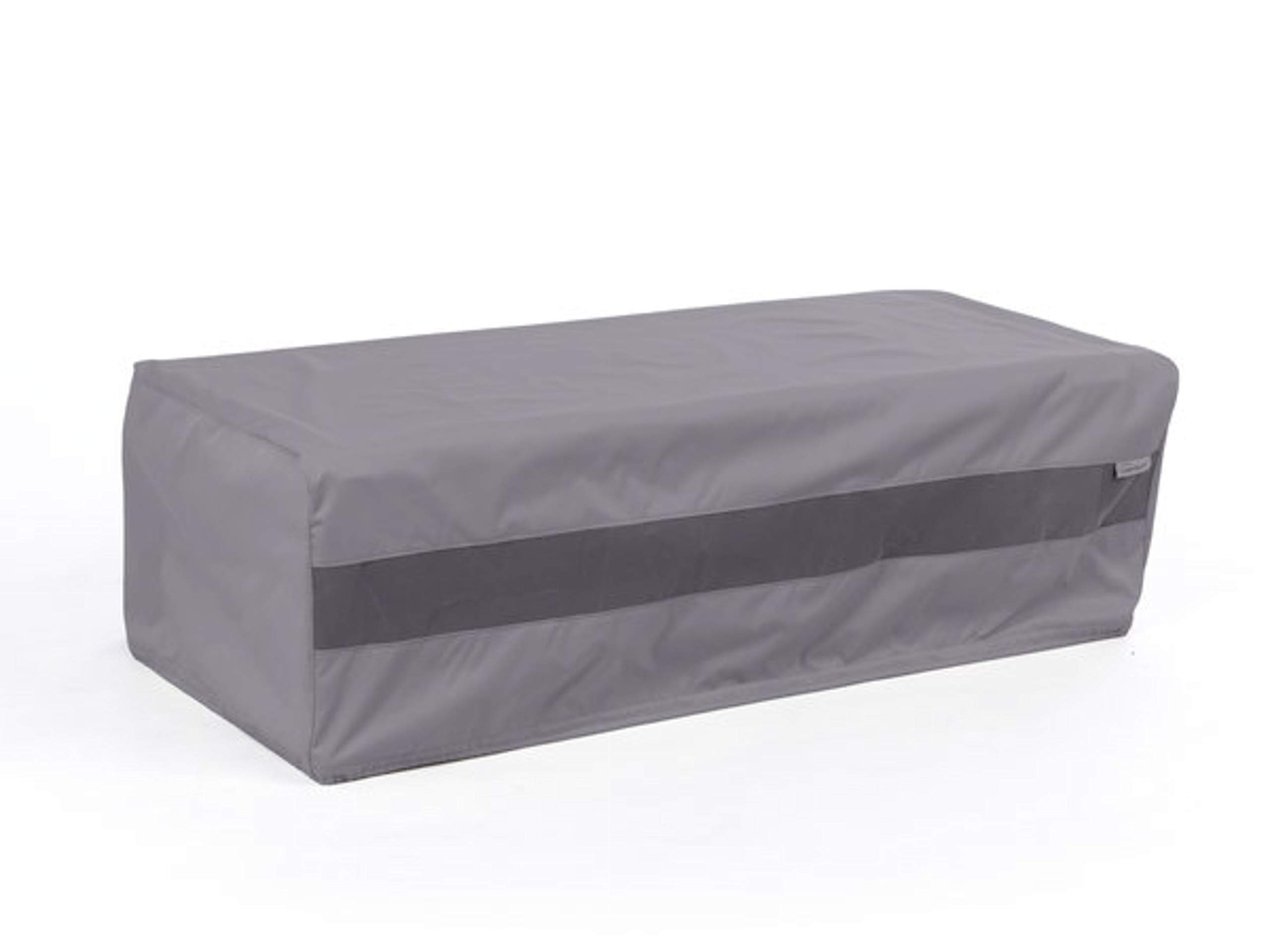 Covermates - Ice Chest Cover - 48W x 28D x 18H - Elite - 300D Stock-Dyed Polyester - Double Stitched Seams - Locking Drawcord - 3 YR Warranty - Weather Resistant - Charcoal by Covermates