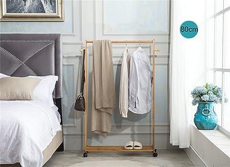 Perchero Suelo Escalera Racks, Dormitorio Percha Salón Simple Moderno Bamboo Racks Percha,Gancho de Ropa (Tamaño : 80cm): Amazon.es: Hogar