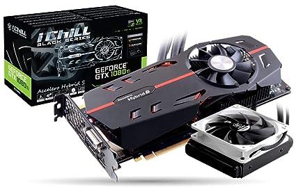 Inno3D C108TB-1SDN-Q6MNX - Tarjeta gráfica (GeForce GTX 1080 ...