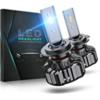 H7 LED 12000LM, Lampadine 6000K, 12V, 60W