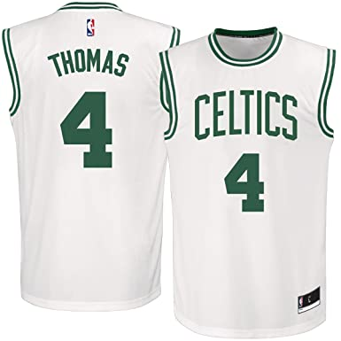 online store eefcc 790a6 Isaiah Thomas Boston Celtics #4 White Youth Replica Jersey