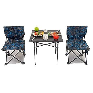 Ensemble Table Et Chaise Pliante De Jardin