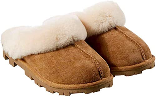 KS Kirkland Women's Sheepskin Shearling Slippers