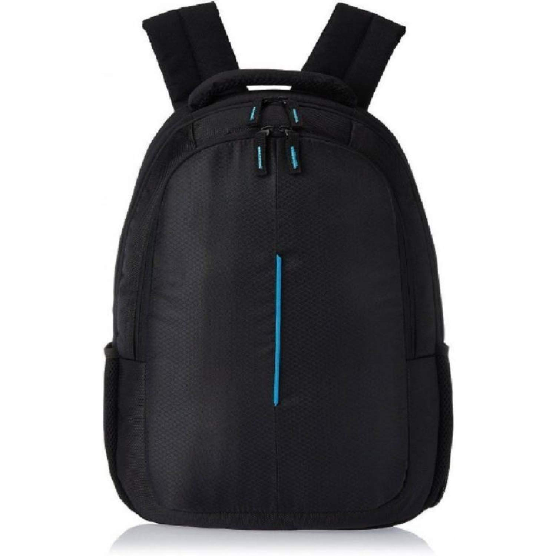 cfbbf7a0d4 Wesley 15.6 inch 24 Litre Casual Waterproof Polyester Laptop  Backpack/Office Bag/School Bag/College Bag/Business Bag/Unisex Travel  Backpack (Black): ...