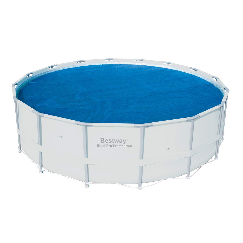 Amazon.com: Bestway 58253 Cubierta de la piscina solar, 16 ...