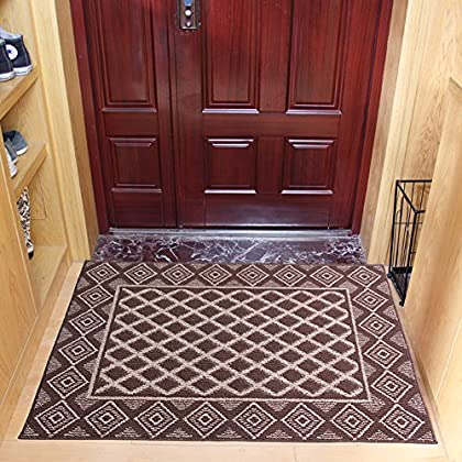 Image of Door mat,Gate pad,Rug,Doormats,The door,Lobby door mat european,[customer],Room full of bedding,[absorbent],Non-slip mats-H 85x115cm(33x45inch) Home and Kitchen