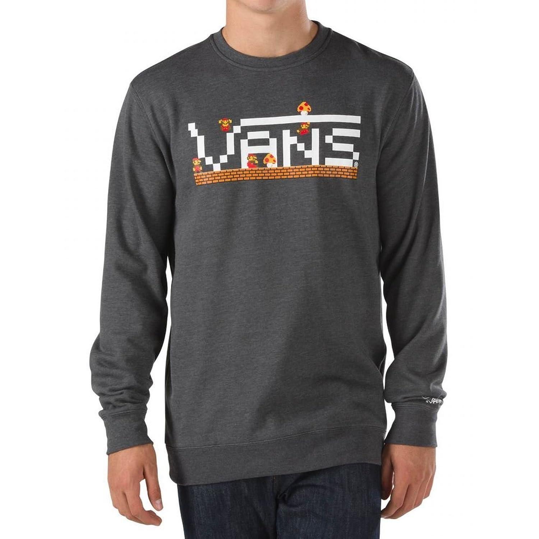 Herren Sweater Vans Nintendo Mario Crew Sweater