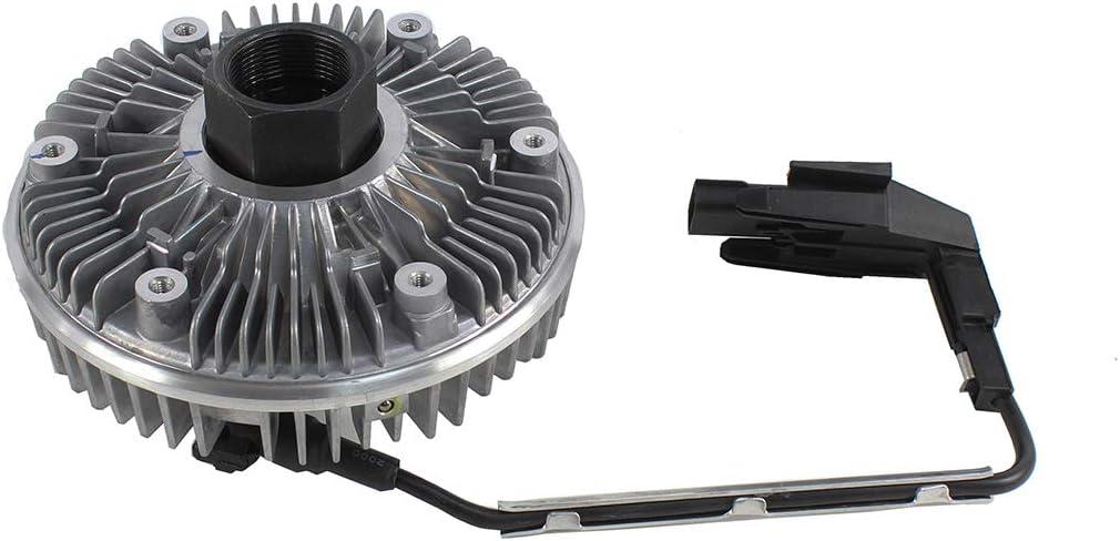 DNJ FCA1004E NEW Fan Clutch Assembly for 2008-2010 / Ford/F-250, F-350, F-450, F-550, Super Duty / V8 / 6.4L / Turbo-Diesel
