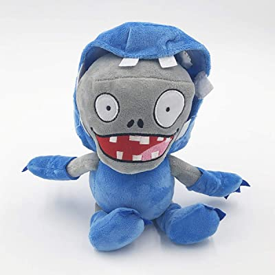 TavasHome Plants vs. Zombies 2 PVZ Figures Plush Stuffed Soft Toys Doll Egg Pusher Imp Zombie: Toys & Games