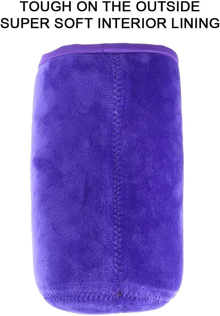 Color : Purple GuiPing 4 in 1 SLR Camera Lens Bag Micro Single Lens Bag Lens Inner Bile Bag Waterproof Protective Case Plus Velvet Thickening Durable