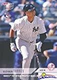 #7: Gleyber Torres 2018 Topps Now #112 FIRST EVER PRINTED TOPPS ROOKIE Card in Mint Condition with RC Logo! Shipped in Ultra Pro Top loader to Protected! Awesome ROOKIE Card of New York Yankee Future Star