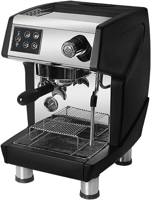 ITOPKITCHEN Cafetera Espresso de la cafetera Comercial 15 Bares ...