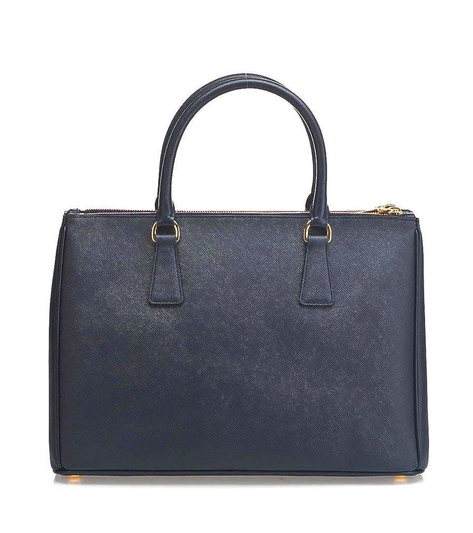 Prada Women s Tote Bag Saffiano Leather in Baltic Blue Style 2274   Amazon.co.uk  Shoes   Bags edaaf96e3c991