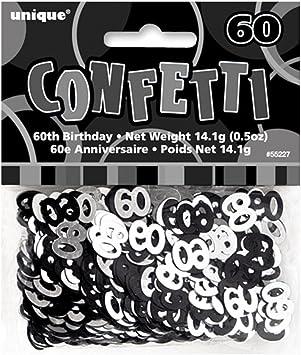 Or Rose Glitz 60 60th Anniversaire Table Confetti 14 g