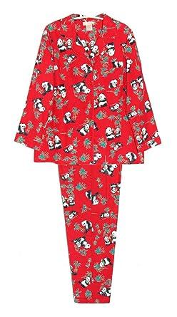 7027a4710c La Cera Women s Flannel PJ Set Plus Size at Amazon Women s Clothing store