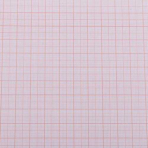 chiwanji Koordinatenpapier, A3, kariert, kariert, 100 Stück