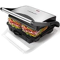 Aigostar Hett/Warme,Sandwichtoaster Sandwichmaker Tisch-Grill Waffeleisen