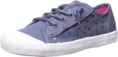 Keds Girls Kickstart Seasonal Toe Cap Jr Sneaker