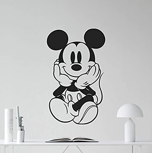 Glass Room 5 Sizes Walls Decal Laptop Minnie /& Mickey Mouse Vinyl Stickers