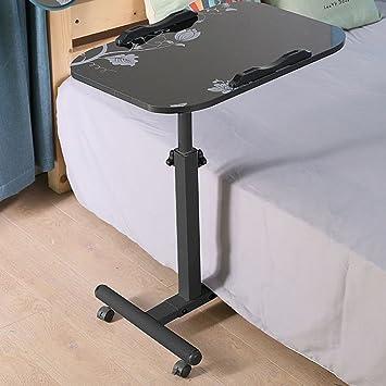 Mesa plegable para Ordenador portátil para Espacios pequeños Mesa de Ordenador Desmontable Mesa de Madera Mesa