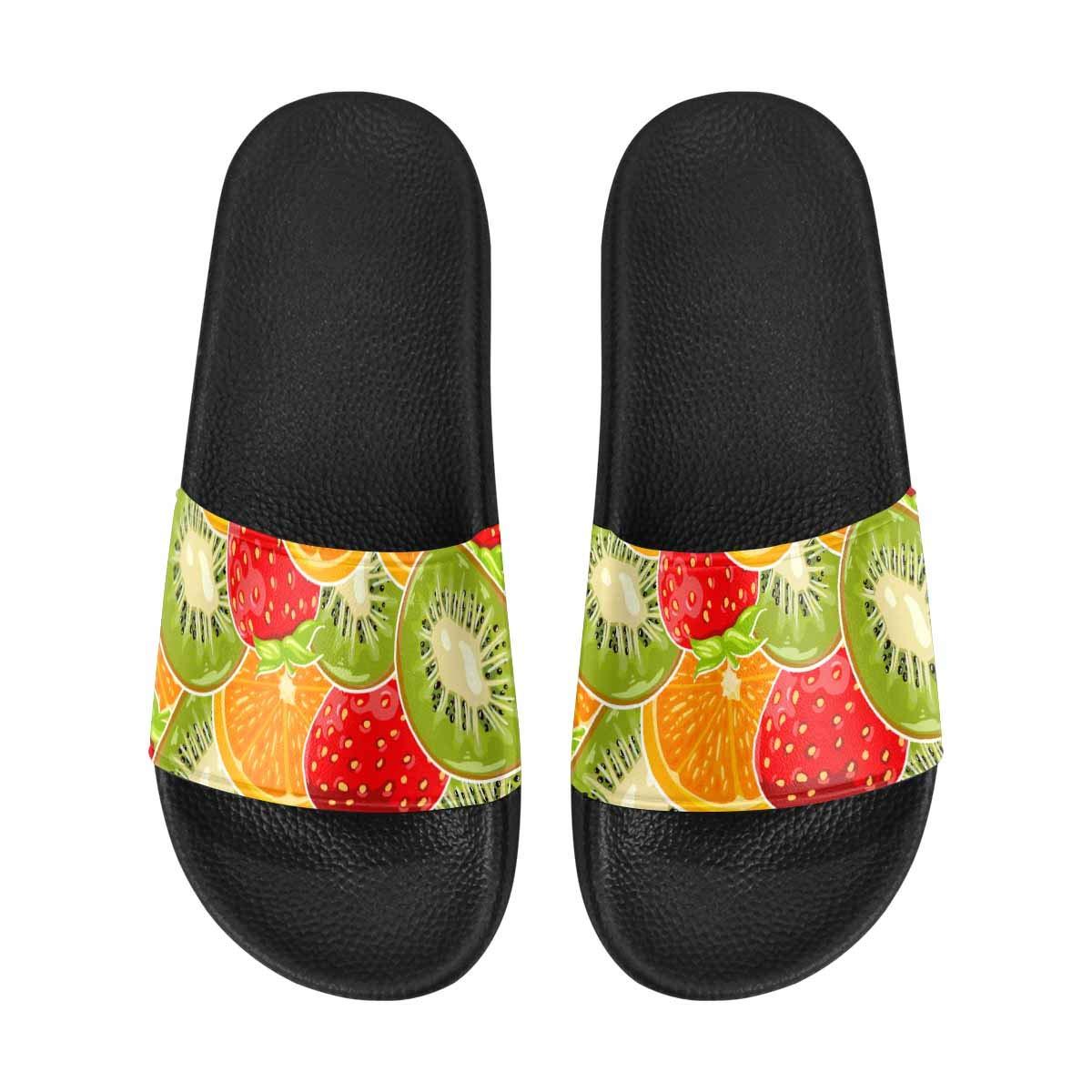 INTERESTPRINT Womens Lightweight Casual Style Slide Sandals US6-US12