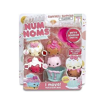 Num Noms - Confetti Surprise Cupcake, Juego para cocinar (Bandai 542216)