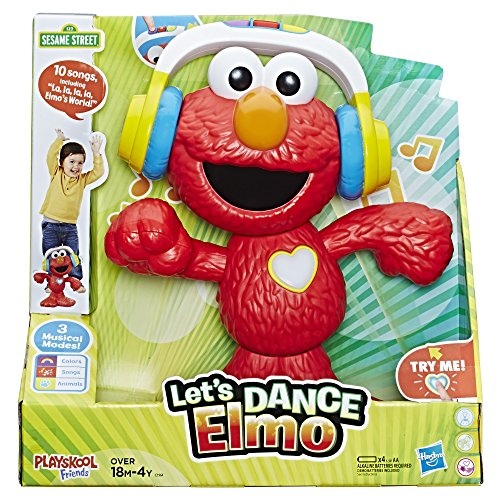 Sesame Street Playskool Friends Lets Dance Elmo