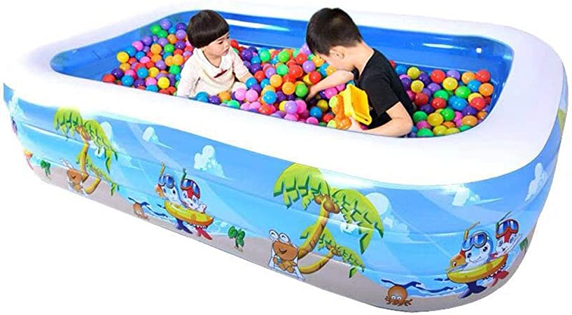 Swimming pool Piscina Inflable Gigante YUHAO(UK) para niños – Piscina Rectangular Inflable para Familia y niños: Amazon.es: Jardín