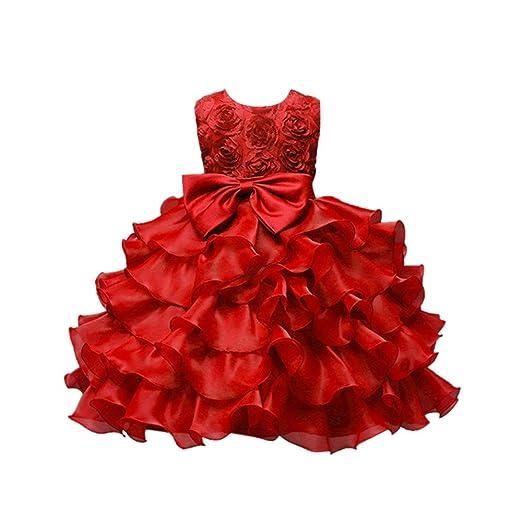 f401d36436d6 Amazon.com  Yamally Big Girls Sleeveless Bridesmaid Maxi Gown ...