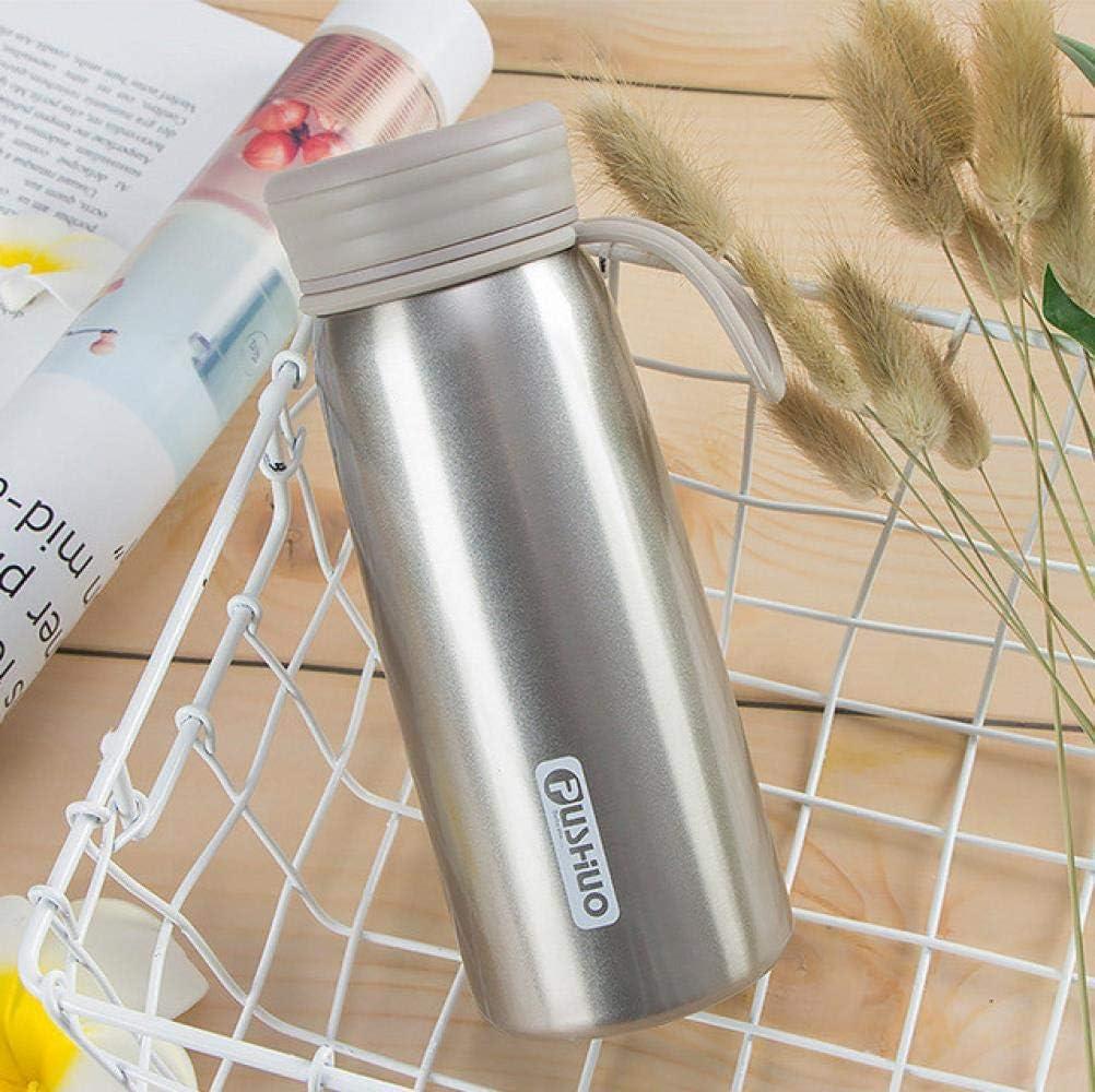 Frascos De Vacío De Acero Inoxidable Botella De Termo Animal Taza De Café Vaso Portátil Con Aislamiento Para Viajes Al Aire Libre, 300 Ml, 8