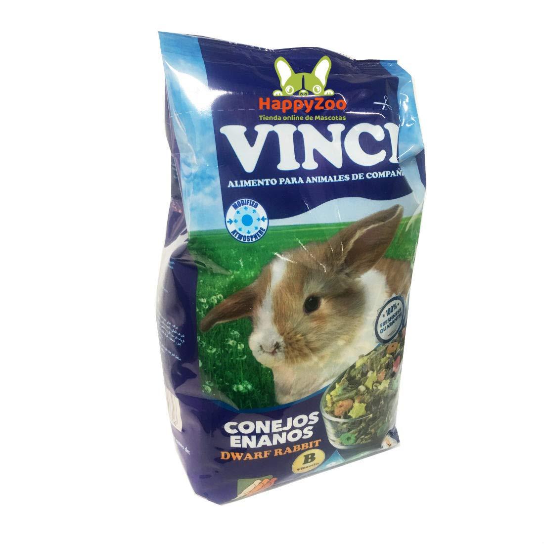 Alimento Especial para Conejos Enanos - Vitamina B - Fibra ...