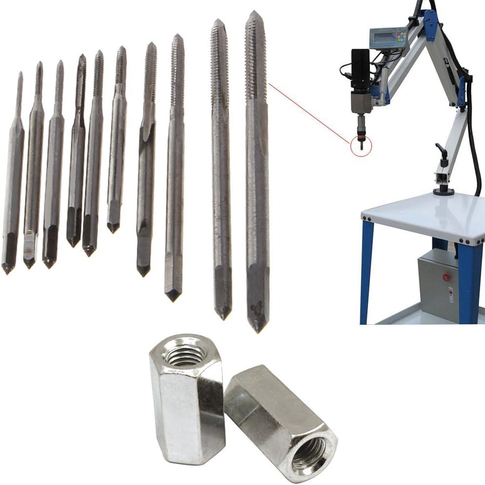 Qianqian56 Mini HSS High Speed Steel Metric Machine Plug Thread Screw Tap Tool M1-M3.5 New