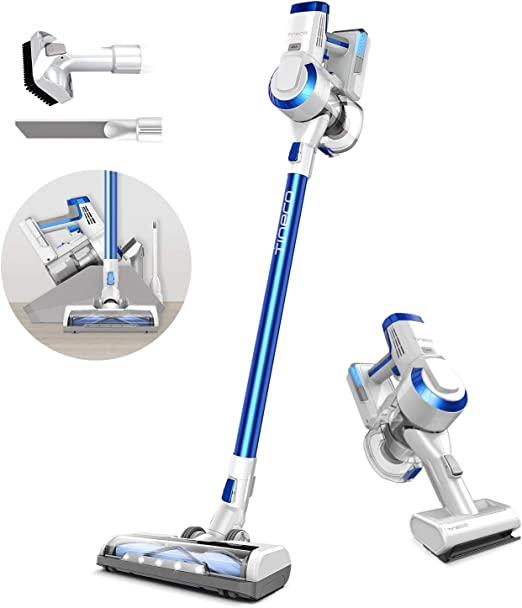 Tineco A10 Hero Cordless Stick Vacuum Cleaner, Powerful Suction, Multi-Surface Cleaning, Great for Pet Hair, Space Blue best cordless vacuum