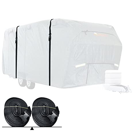 a1b81a838486 Amazon.com  KING BIRD Reinforced Straps for RV Cover to Extend Lifespan