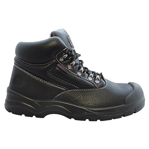 95f6698f9b1 Zephyr ZX01 S3 SRC Black Steel Toe Cap TPU Scuff Cap Premium Chukka ...