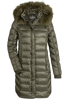 online hier starke verpackung helle n Farbe MILESTONE Damen Daunenmantel Winter Mantel Gesteppt Bordeaux ...