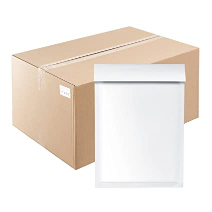 Briefumschläge Briefhüllen Luftpolsterumschläge Luftpolstertaschen  Versandtasche Umschläge Weiß ohne Fenster D14 100 St. (175x265mm)