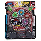 Tempt 4 Beyblade Set With Ripchord Launcher