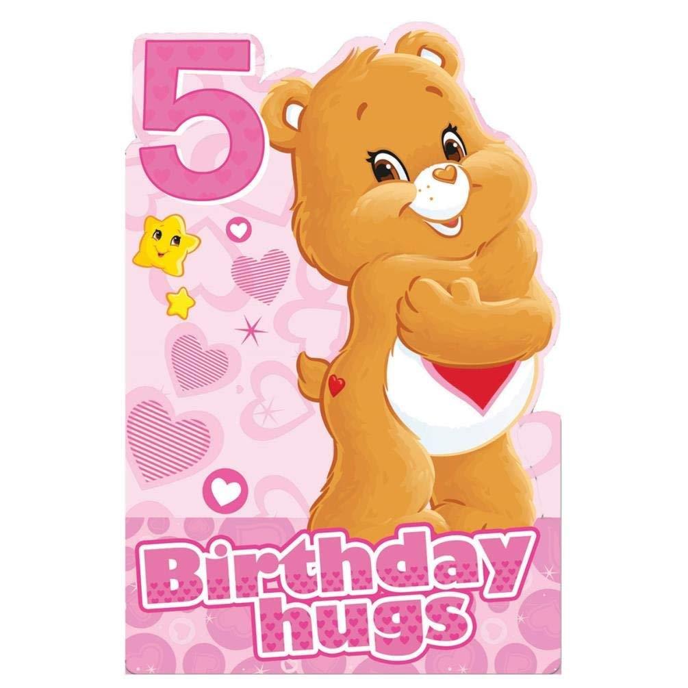 Care Bears 5th Biglietto Compleanno