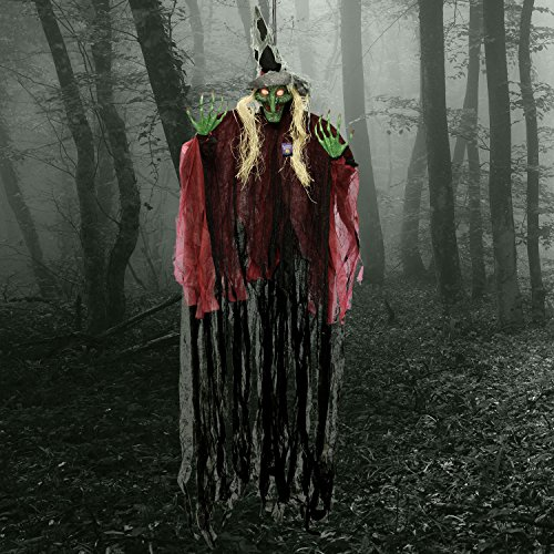 Hanging 9 Outdoor Holiday Decorations Foot Scary Wicked