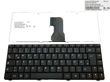 Teclado para Lenovo G460, G465, G465 A Alemán nuevo negro: Amazon.es: Electrónica